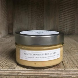 Crème d'Asperges des Landes aux Zestes de Citron et piment d'Espelette