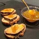 Confit d'oignons doux des Cévennes Foie gras