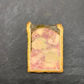 Pâté Croûte N°10 : Volaille, Foie Gras et Cédrat