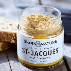 Rillettes de Noix de Saint Jacques à la Bretonne