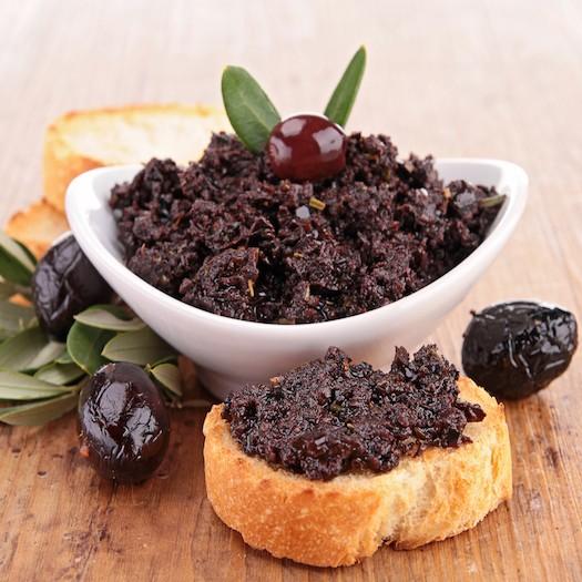 Tapenade d'Olives Noires Apéritif