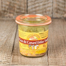 Foie Gras de Canard Entier Tradition 90 gr