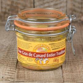 Foie Gras de Canard Entier Tradition 180 gr
