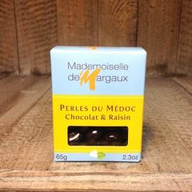 Perles du Médoc Chocolat & Raisin