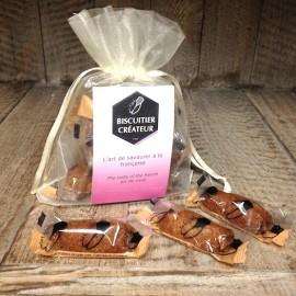 Les P'tits Sablés de Provence - Cigales au Caramel et Fleur de sel de Camargue