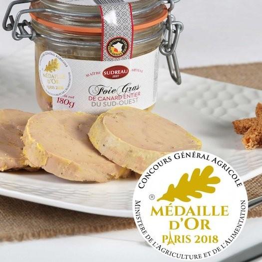 Foie Gras de Canard Entier du Sud-Ouest 180 gr